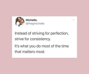 motivation, perfection, and quotes image