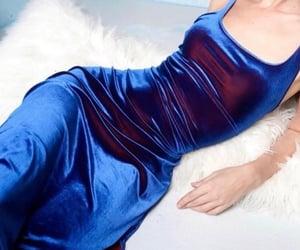 blue, fashion, and follow image