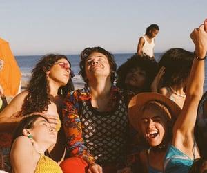Harry Styles, watermelon sugar, and beach image