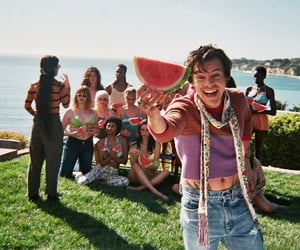 Harry Styles, watermelon sugar, and style image