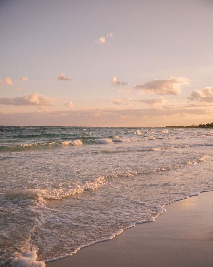 sea, nature, and sunset image