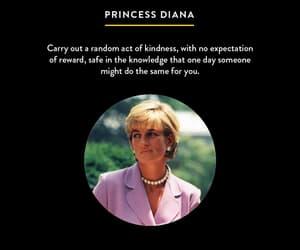kindness, princess diana, and someone image