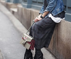 bags, boots, and street style image