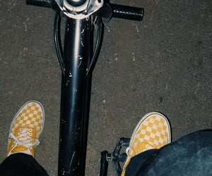 aesthetic, bmx, and vans image