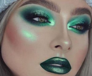 beauty, highlighter, and look image