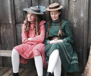 anne with an e, amybeth mcnulty, and kyla matthews image