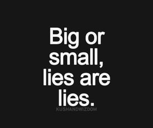 lies, quotes, and black and white image