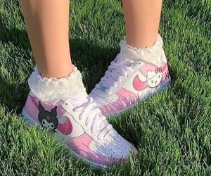 fashion, hello kitty, and pink image