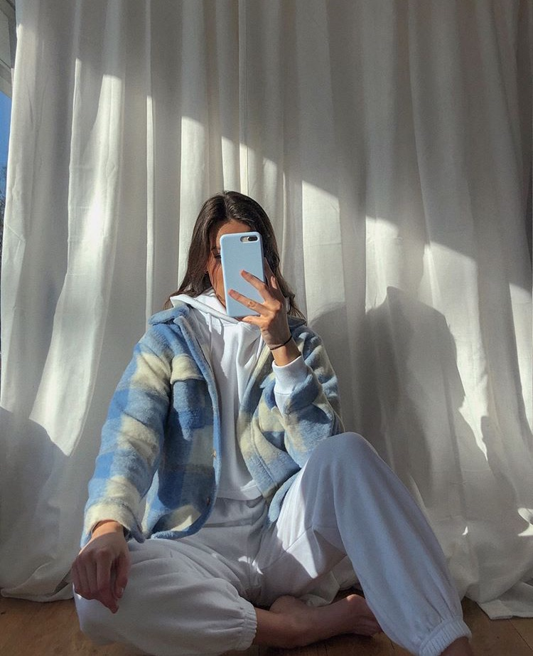 pastel colours, Sunny, and long dark hair image