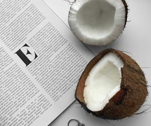 coconut and food image