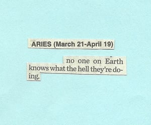 aries, astrology, and horoscope image