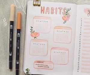 bujo, habit tracker, and bullet journal ideas image