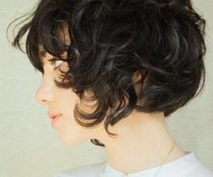 hair, short, and short hair image