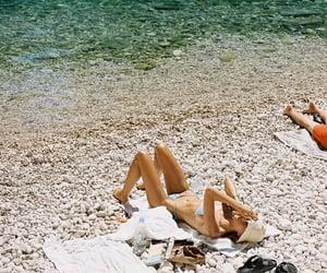 beach, bikini, and Croatia image