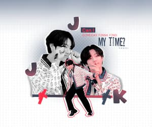 gif, kpop edit, and jungkook edit image