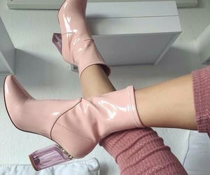boots, girly, and chic image