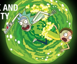 rick and morty, rick sanchez, and morty smith image