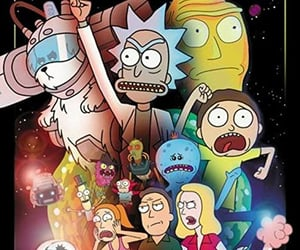 rick and morty, beth smith, and mr. meeseeks image