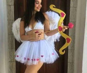 costume, Halloween, and cupid image
