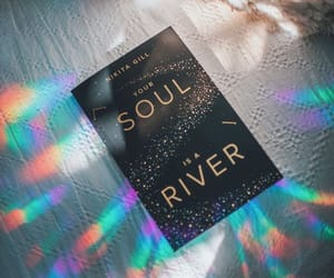 book and your soul is a river image