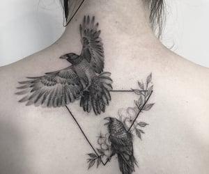 corvo, tattooed girl, and pale skin image