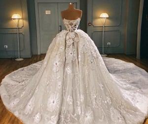 beautiful dress, cinderella, and expensive image