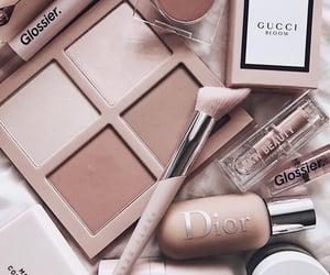 makeup, dior, and beauty image