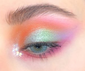 eyes and eyeshadow image