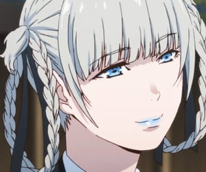 anime, badass, and blue image