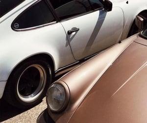 classic, white, and automobile image