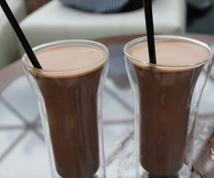 drink, chocolate, and coffee image