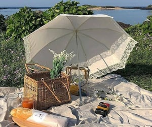 baguette, food, and picnic image