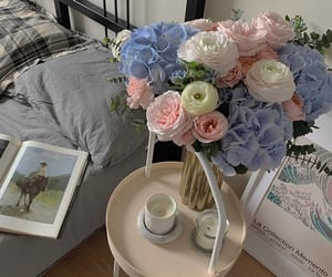 morning, flowers, and home image