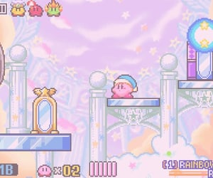 game, kirby, and aesthetic image