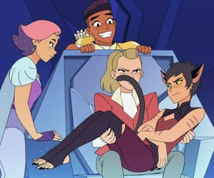 bow, glimmer, and she-ra image