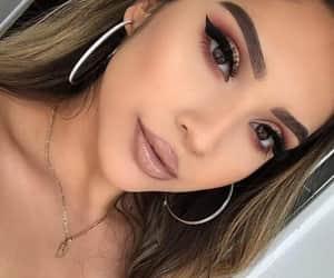 arte, mujer, and makeup image