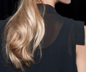 black, curls, and golden image