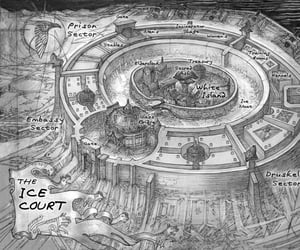 six of crows, ice court, and the ice court image