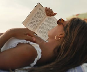fashion, summer, and book image