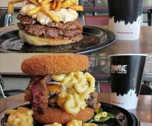 burgers, delicious, and burger image
