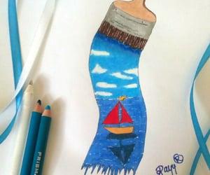 art, artsy, and drawing image