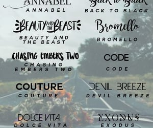 editing, font, and fonts image