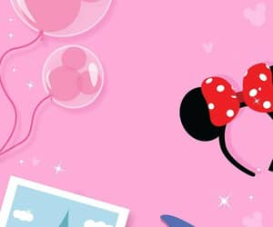 disney, wallpaper, and pink image