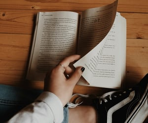 books, reading, and shoes image