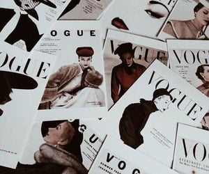 vogue, magazine, and vintage image