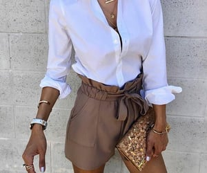 accessories, brown, and clutch image