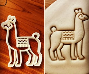 animal, cooking, and llama image
