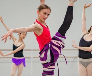 artist, ballet, and colours image