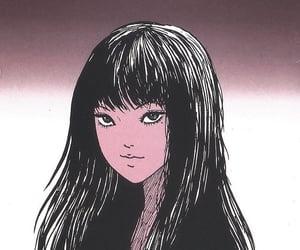anime, junji ito, and manga image