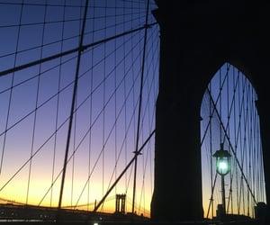 architecture, brooklyn bridge, and new york image